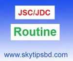 JDC routine 2013 has been published