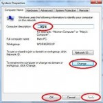 how to change computer properties register owner name?