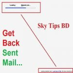 get back sent email just a single click