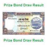 prize bond result
